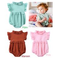 Romper Bayi Cewek Imut / Baju Bayi Cewek Cantik / Romper anak Cewek