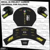 Stiker Decal Helm Motif 46 Project Universal