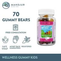 Wellness Gummy Kids Multivitamins Isi 70 Gummy Bears