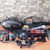 Paket Body Custom Japstyle Gl pro Megapro Tiger Thunder 125 Scorpio