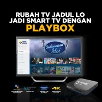 MNC PLAY BOX STB ANDROID SMART TV OPEN ALL CHANNEL