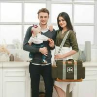 Dialogue Baby DGT7413 Tas Besar Perlengkapan Bayi 5in1 Classy Series