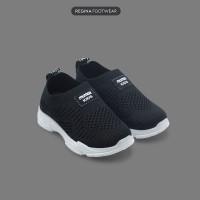 Faster Kids - Sepatu Sneakers Anak 1807-1816 Size 32-37 - Hitam, 32