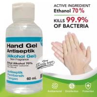 Hand Sanitizer Antiseptic VIXO 60ml / Antiseptik & Antibacterial gel