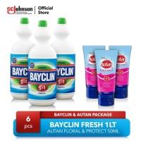 Bayclin Fresh 1lt dan Autan Floral & Protect
