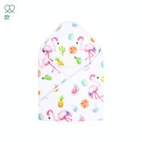 Selimut Bayi Katun Little Lou by Sprei Nyenyak - Flamingo Blanket - Baby
