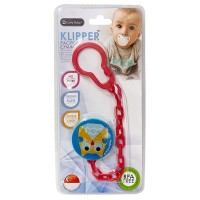 Lucky baby - LB 9422 - Klipper Pacifier Chain - owl