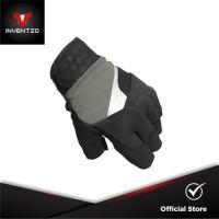 INVENTZO Lafio Grey - Sarung Tangan Motor Half Finger