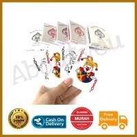 PROMO KARTU REMI lapis plastik / plastic coated poker sulap murah awet
