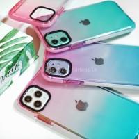 Bumper Rainbow Case Iphone 6 6S 6+ 6S+ 7 7+ 8 8+ X XS MAX XR 11 PROMAX