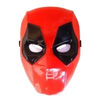 Topeng Marvels Deadpool Superhero LED Mask Topeng Mainan Anak Nyala