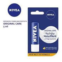Lip Balm NIVEA 24 h Melt-in Moisture Lip Balm Original