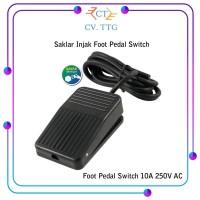 Saklar Injak Switch 10A 250V AC - Foot Pedal Non Slip Heavy Duty Kaki