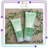 Wardah Nature Daily Aloe Hydramild Facial Wash 60ml dan 100ml