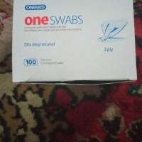 Alkohol Swab / Tisu Antiseptic merk Onemed