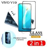 Tempered Glass VIVO V19 - Pelindung Layar Free Tempered Kamera