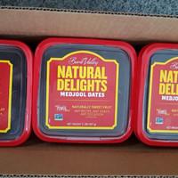 Kurma Medjool Natural Delights California USA Premium Dates 907gr