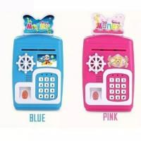 Mainan Anak ATM Brankas/ Smart Safe Bank Celengan