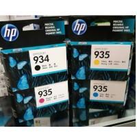 PAKETAN TINTA HP 934 BLACK DAN 935 COLOR (C.Y.M) ORIGINAL