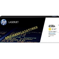 TONER CARTRIDGE HP LASERJET 658A YELLOW ORIGINAL 100%