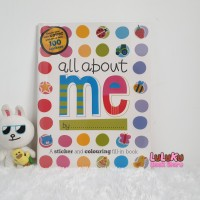 Buku import Aktivitas Anak Children Activity Book Books - All About Me