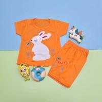 Baju Setelan Anak Perempuan White Rabbit 1-4 thn