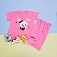 Baju Setelan Anak Perempuan Motif Rabbit