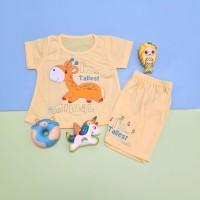 Baju Setelan Anak Perempuan Motif Animal