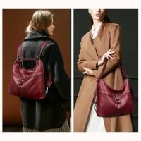 Tas Shoulder Bag Multifungsi Wanita / Tas Selempang Slingbag Wanita