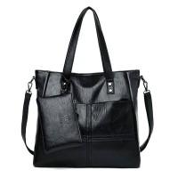 Tas Tote Bag Wanita Fashion Leather Shoulder Bag Slingbag Selempang