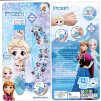 Jam Tangan Proyeksi Kepala Besar Motif Frozen Anna Elsa