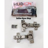Engsel Sendok HUBEN MT Model Lurus (1 Set 2 pcs)