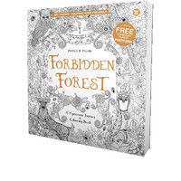 Forbidden Forest - Coloring Book for Adult