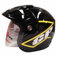 Helm GP Eco Moto GP Black Yellow