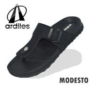 Sandal ardiles Modesto - hitam sandal pria empuk dan ringan
