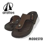 Sandal ardiles Modesto - cokelat sandal pria empuk dan ringan