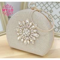 TAS PESTA WANITA PARTY BAG CLUTCH IMPORT MYLO MC3A55 - MILO