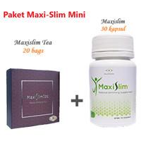 Paket Maxislim (Slimming Tea + Kapsul) - Maxislim Mini