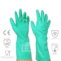 Sarung Tangan Kimia Super Nitrile Rubberex RNF15 33cm