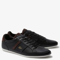 Lacoste Mens Chaymon Leather Synthetic Sneaker
