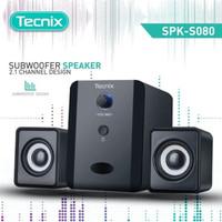 Speaker Multimedia TECNIX SPK-S080 Speaker Aktif Subwoofer 2.1 Channel