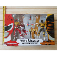 HASBRO POWER RANGERS LIGHTNING COLLECTION SDCC JASON RED & GOLD ZEO