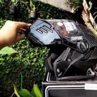 simpson modular carbon helmet 2xl