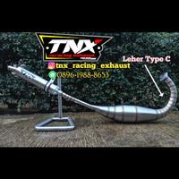 Knalpot Ninja R RR Stainless Big Volume Leher C TNX Racing Exhaust