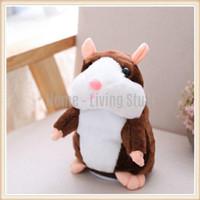 Talking Hamster Unicorn Toy Kids Doll Mainan Anak Bayi Boneka Hamster