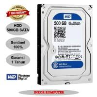 Harddisk Pc 3 5 500 Gb Sata WD Blue GARANSI 1 TAHUN