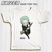KAIZER TD-0223 Kaos One Piece Zoro Chibi - Anime One Piece