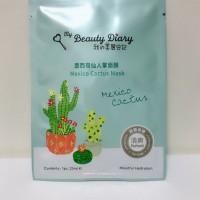 Masker My Beauty Diary Mexico Cactus Mask