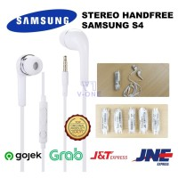 EARPHONE HEADSET HANDSFREE SAMSUNG ORI S4/J5 KUALITAS TOP