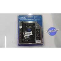 CASING HARDISK INTERNAL LAPTOP HDD SSD CADY CADY 2.5 INCH SLIM ORI